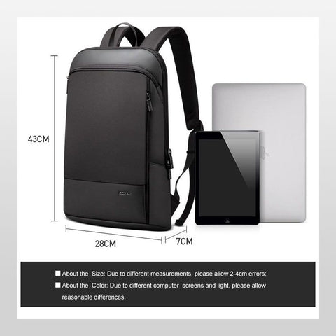 Slim Laptop 15.6 inch Unisex Ultra Thin Backpack