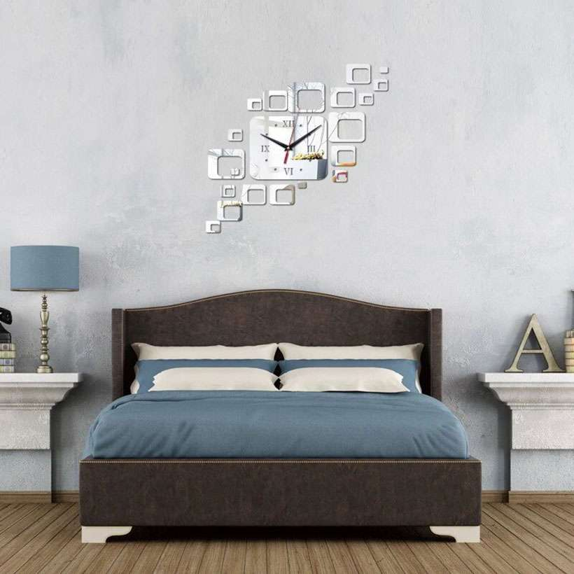 Special Mirror Time Limited Quartz Wall Clock - Fashion, Beauty, Home & Garden & More @Nesavastore