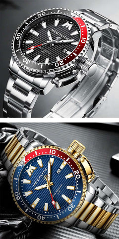 MEGALITH Gold Full Steel Watches - Fashion, Beauty, Home & Garden & More @Nesavastore