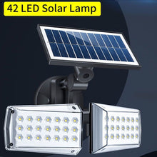 Load image into Gallery viewer, Solar Lights Outdoor Remote Dual 42 LEDs Lights - Fashion, Beauty, Home & Garden & More @Nesavastore