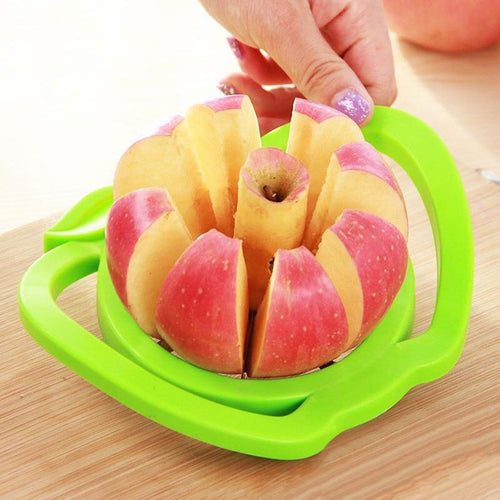 Kitchen Apple Slicer Cutter Pear Fruit Divider Tool  -Shop Electronics, Fashion, Beauty, Home & Garden & More @Nesavastore