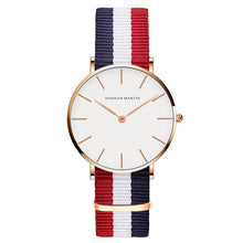 Load image into Gallery viewer, Women's Quartz Simple White Leather Strap Watches - Nesavastore