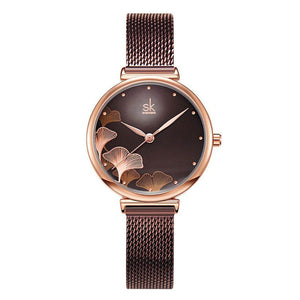 Women New Design Elegant 32 MM Dial Quartz Watches - Fashion, Beauty, Home & Garden & More @Nesavastore