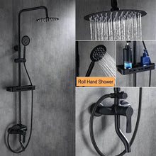 Load image into Gallery viewer, Wall Mounted Rainfall Shower Set Faucet - Fashion, Beauty, Home & Garden & More @Nesavastore