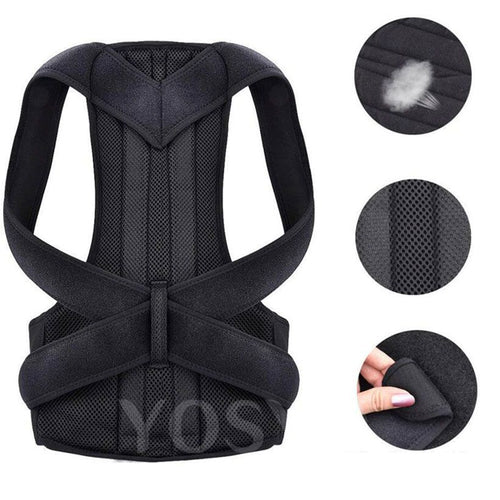 Posture Corrector For Men And Women - Adjustable Upper Back - Fashion, Beauty, Home & Garden & More @Nesavastore
