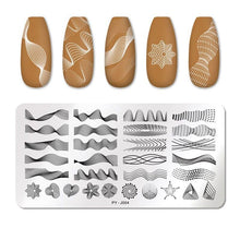 Load image into Gallery viewer, Nail Stamping Plates Flower Image Stencils Template - Fashion, Beauty, Home & Garden & More @Nesavastore