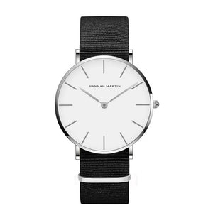 Women's Quartz Simple White Leather Strap Watches - Nesavastore