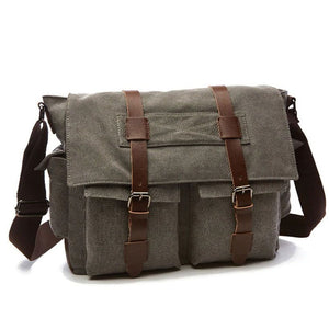 Unisex's Retro Canvas Messenger Handbags - Fashion, Beauty, Home & Garden & More @Nesavastore