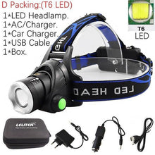 Load image into Gallery viewer, Waterproof Portable Head Led Flashlight - Fashion, Beauty, Home & Garden & More @Nesavastore