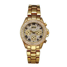 Load image into Gallery viewer, Women's Chronograph 18K Gold Watches  -Shop Electronics, Fashion, Beauty, Home & Garden & More @Nesavastore