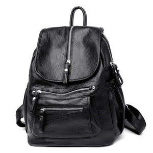 Women Casual Large Capacity Vintage Backpack - Shop Electronics, Fashion, Beauty, Home & Garden & More @Nesavastore