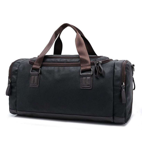 Casual Large Capacity Quality Travel Duffel Bag - Nesavastore