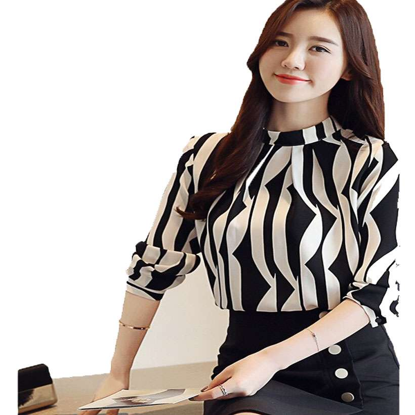 Women's High-Quality Long Sleeve Blouse - Shop Electronics, Fashion, Beauty, Home & Garden & More @Nesavastore