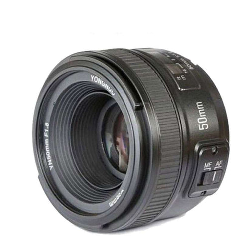 Auto Focus 50mm f1.8 AF Lens YN50mm Aperture For Nikon  -Shop Electronics, Fashion, Beauty, Home & Garden & More @Nesavastore