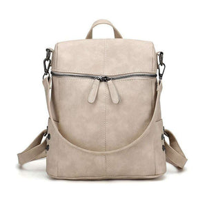 Women's Herald Fashion Leather School Backpack  -Shop Electronics, Fashion, Beauty, Home & Garden & More @Nesavastore