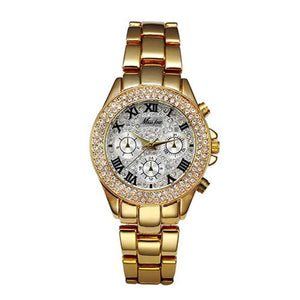 Women's Chronograph 18K Gold Watches  -Shop Electronics, Fashion, Beauty, Home & Garden & More @Nesavastore