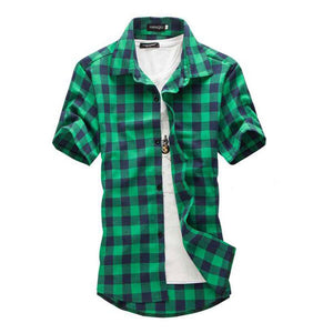 Men's Casual Slim Fit Stylish Shirt - Shop Electronics, Fashion, Beauty, Home & Garden & More @Nesavastore