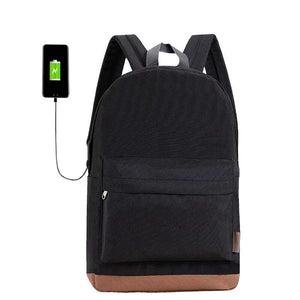 Men's Canvas Casual Rucksacks College Backpacks  -Shop Electronics, Fashion, Beauty, Home & Garden & More @Nesavastore