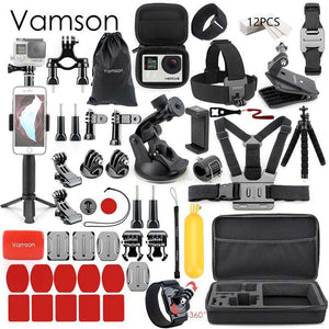 Vamson Waterproof Accessories Set For GoPro  -Shop Electronics, Fashion, Beauty, Home & Garden & More @Nesavastore
