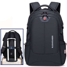 Load image into Gallery viewer, Unisex Waterproof Swiss Phone Charger Backpack  -Shop Electronics, Fashion, Beauty, Home & Garden & More @Nesavastore