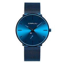 Load image into Gallery viewer, Men's Waterproof Casual Slim Mesh Steel Sports Watches  -Shop Electronics, Fashion, Beauty, Home & Garden & More @Nesavastore