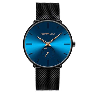 Men's Waterproof Casual Slim Mesh Steel Sports Watches  -Shop Electronics, Fashion, Beauty, Home & Garden & More @Nesavastore