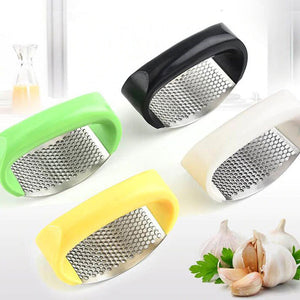 Stainless Steel Garlic Presses Mincer Chopping Tools - Nesavastore