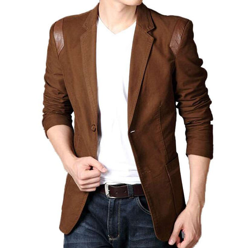 Men's New Fashion Spring & Autumn Slim Fit Blazer