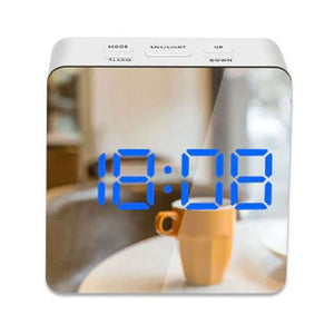Digital LED Mirror Alarm Clock Plus Temperature Display - Fashion, Beauty, Home & Garden & More @Nesavastore