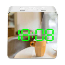 Load image into Gallery viewer, Digital LED Mirror Alarm Clock Plus Temperature Display - Fashion, Beauty, Home & Garden & More @Nesavastore