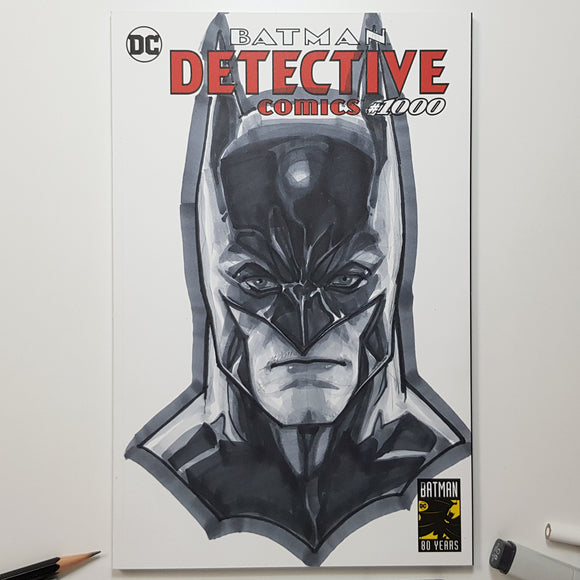 DC Batman Sketch Art Blank by Jeehyung Lee Exclusive
