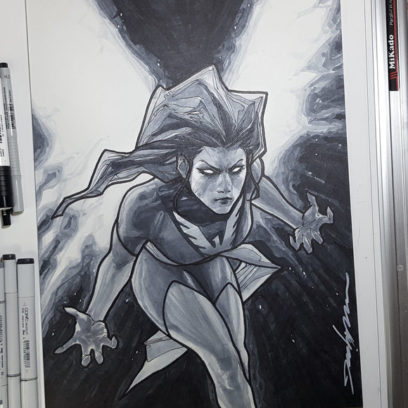 Marvel Phoenix of X-Men A3 11 x 17 Art Paper