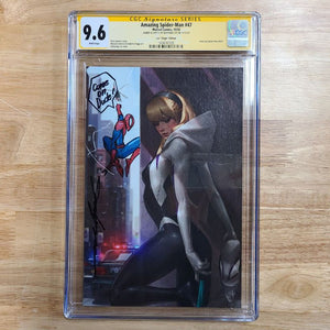 Marvel Amazing Spider-Man #47 Spider-Gwen Jeehyung Lee Variant Remarked Spider-Man CGC 9.6