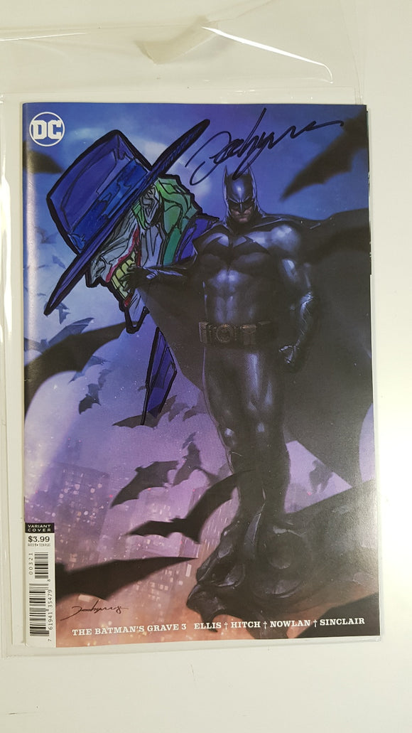 Batmans Grave #3 B Signed Jeehyung Lee Variant DC Remark
