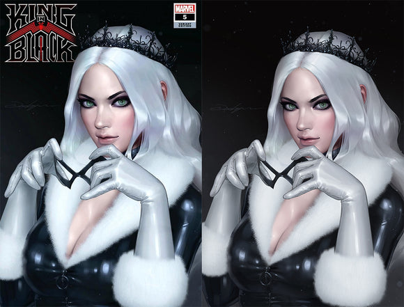 Marvel King In Black Black Cat Symbiote Variant Cover (04/07/2021) Pre-Sale March 20, 11 A.M PST