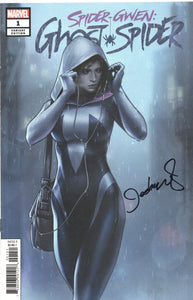 Spider-Gwen Ghost Spider #1 1:100 Signed Jeehyung Lee Marvel Variant
