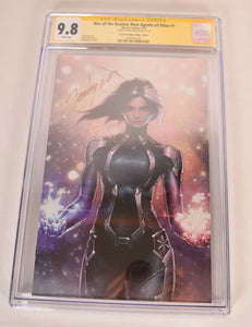 Marvel War of The Realms New Agents of Atlas #1 Virgin Signed CGC SS 9.8 variant