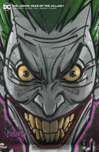 JOKER YEAR OF THE VILLAIN #1 Jeehyung Lee Harley Quinn Graffiti Variant Trade Virgin Set (10/09/2019) DC