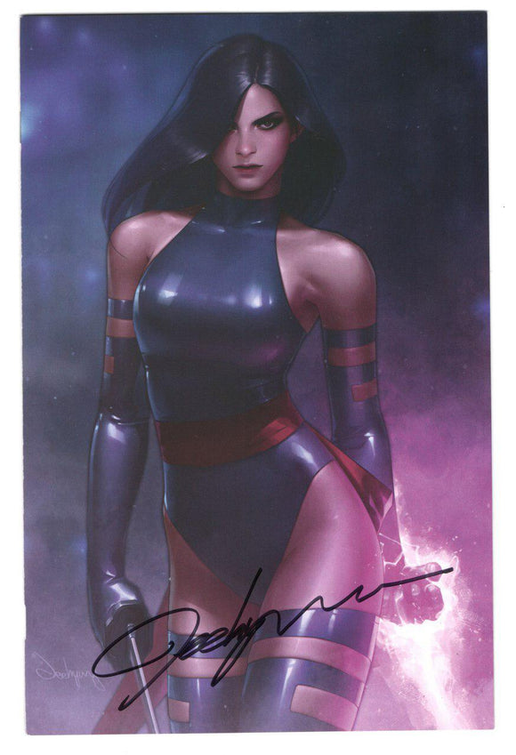 X-Men #2 DX Signed Jeehyung Lee Psylocke Variant Marvel