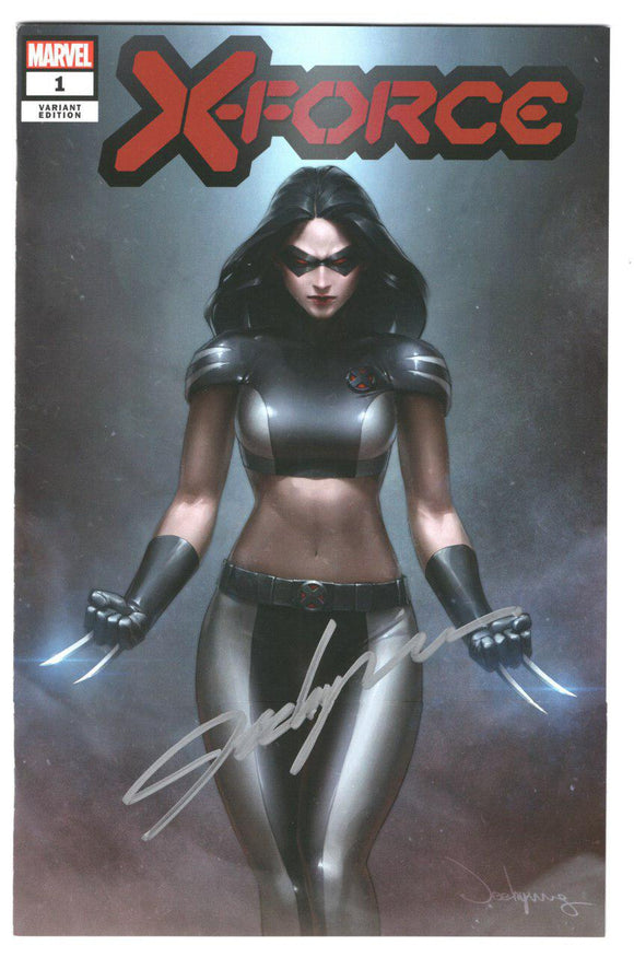 X-Force #1 DX Jeehyung Lee X-23 Signed Variant Trade Virgin Set Marvel