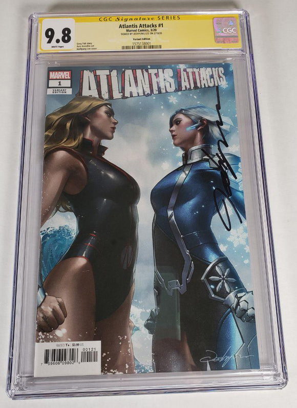 ATLANTIS ATTACKS #1 (OF 5) 1:50 CGC 9.8 Jeehyung Lee Variant Marvel