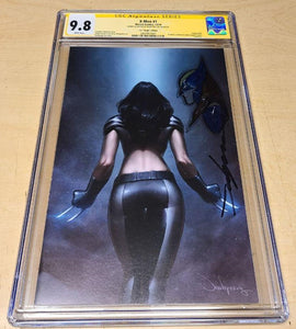 X-Men #1 DX Jeehyung Lee X-23 X-Force Variant CGC SS 9.8 Virgin Remark Marvel
