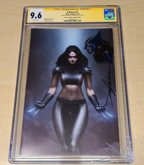 X-Force #1 DX Jeehyung Lee X-23 Variant CGC SS 9.6 Remark Virgin Marvel