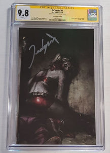 DCeased #1 Harley Quinn Zombie CGC Virgin SS 9.8 by Jeehyung Lee DC Variant