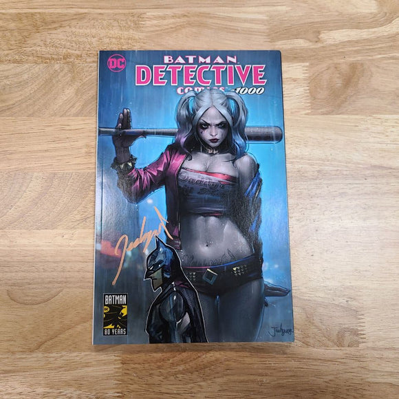 DC Detective Comics #1000 Signed Remark Batman by Jeehyung Lee Variant