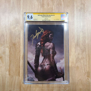 Red Sonja Birth Of She Devil #1 Jeehyung Lee Virgin Variant Dynamite CGC 9.6