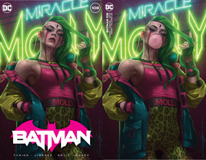 DC Batman #108 Variant Cover Meet Miracle Molly (05/04/2021) Pre-sale April 10th, Sat 11:00 A.M PST