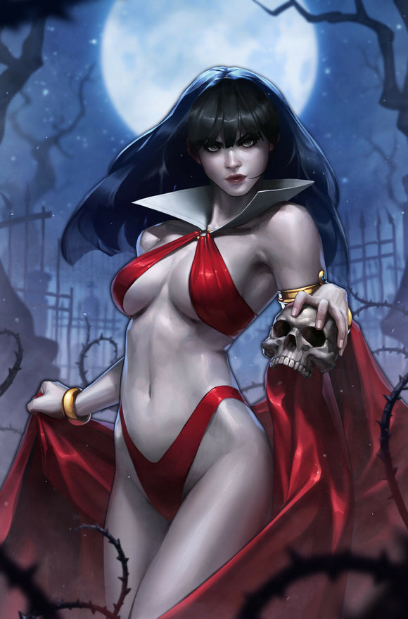 Vampirella Valentines Day Special #1 Virgin Jeehyung Lee Dynamite Cover