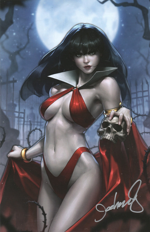 Vampirella Valentines Day Special #1 Virgin Signed Jeehyung Lee Dynamite