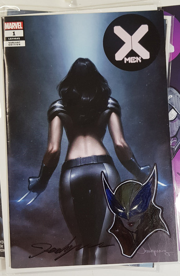 X-Men #1 DX Jeehyung Lee X-23 X-Force Variant Trade Marvel Remark